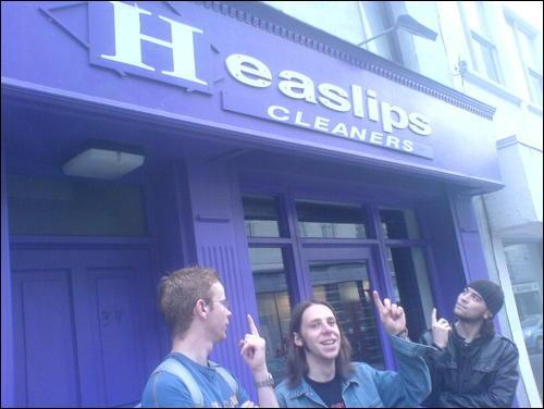 Heaslips - Ireland's Number 1 Horslips Tribute Cleaners