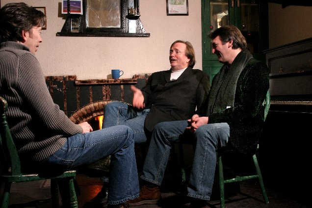Dingle - December 12 2005 - John Kelly with Barry and Jim