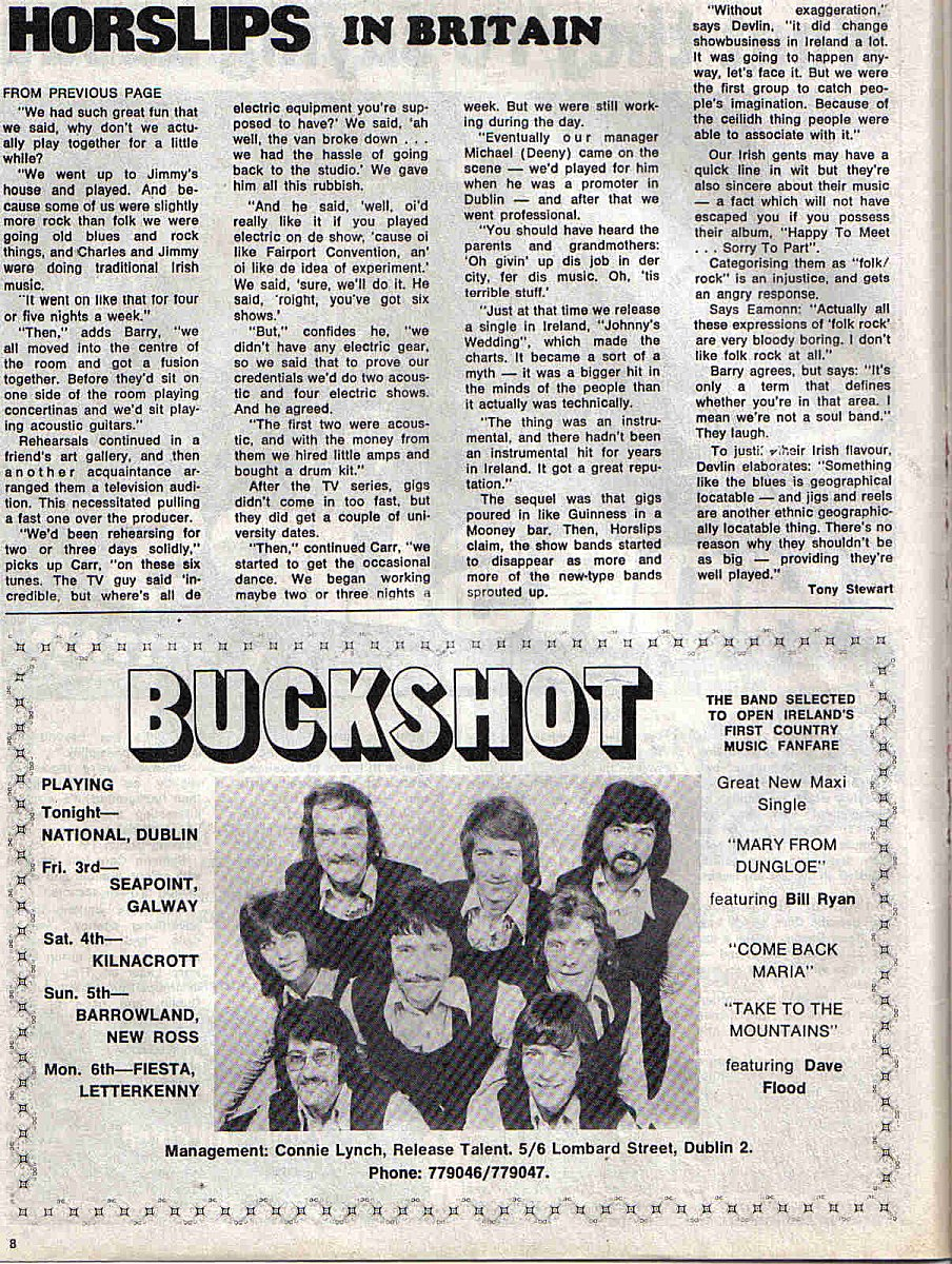 Horslips in Britain - Spotlight Aug '73 (2)