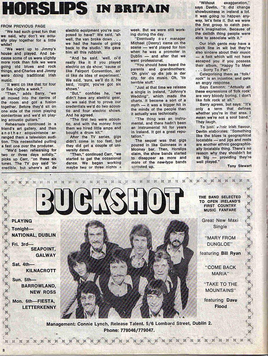 Horslips in Britain - Spotlight Aug '73 (2)