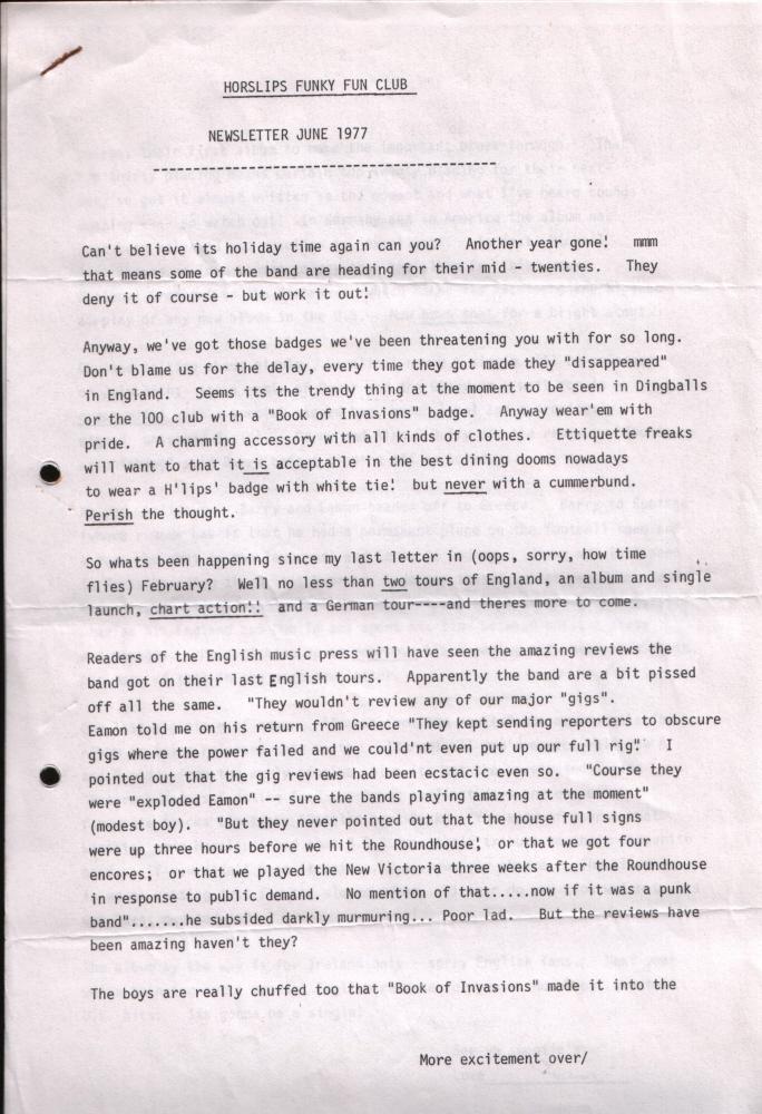 Newsletter 197706A