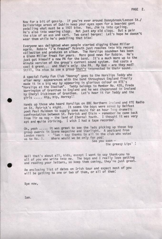 Newsletter 197603B