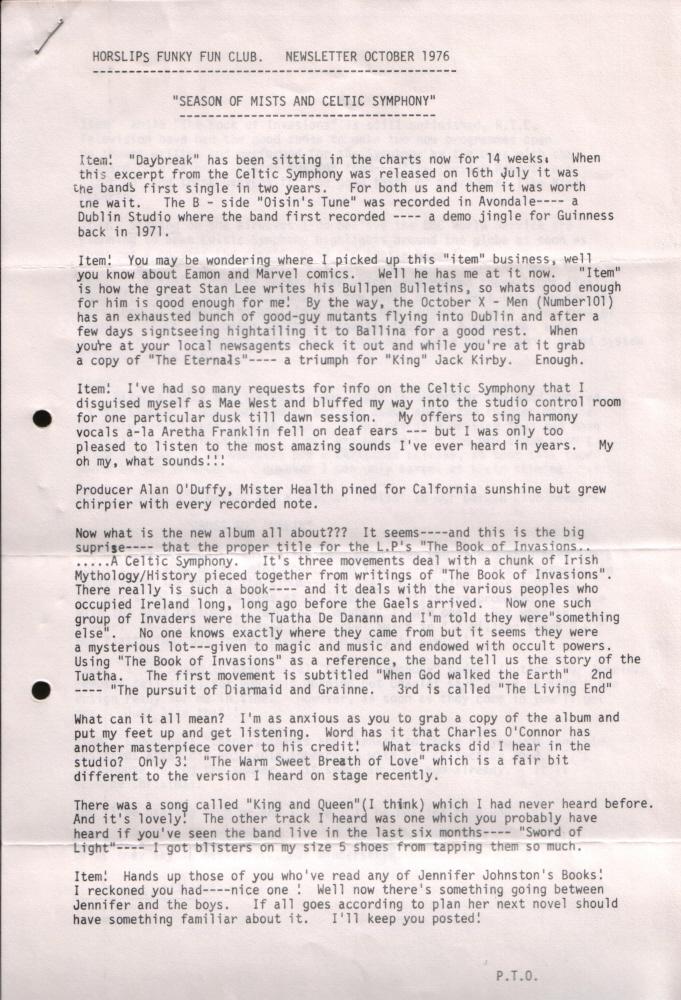Newsletter 197610A