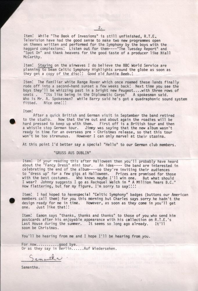 Newsletter 197610B